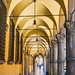 A Walkway in Bologna by Rob J Dart