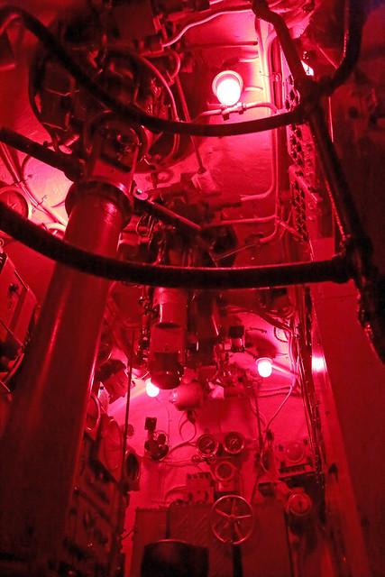 Sub Under Red Light