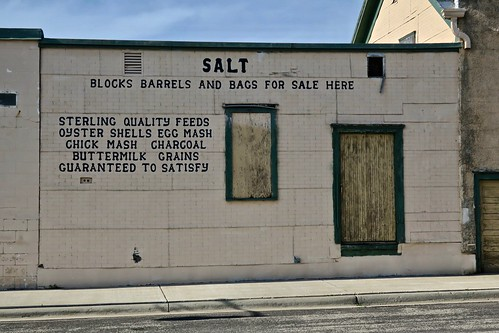 Salt Ghost Sign, Fairfax, MN