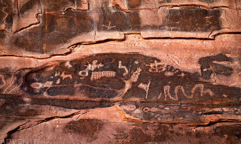 Fading Petroglyphs