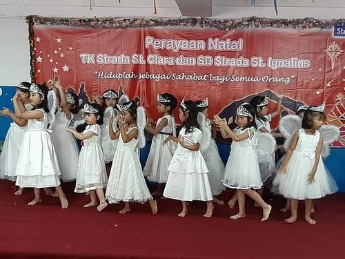 Perayaan Natal Bersama SD Strada Santo Ignatius dan TK Strada Santa Clara