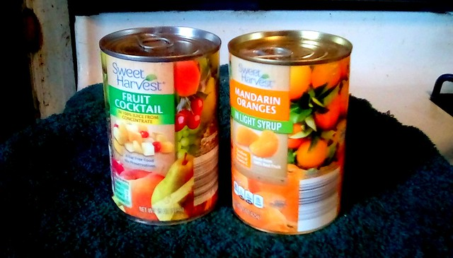 Canned fruit! Menominee Michigan