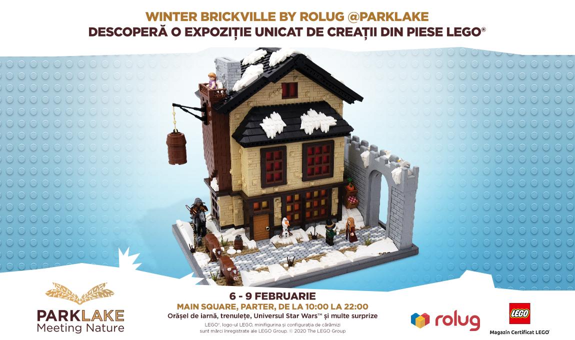 Expozitie RoLUG: Winter BrickVille @ParkLake