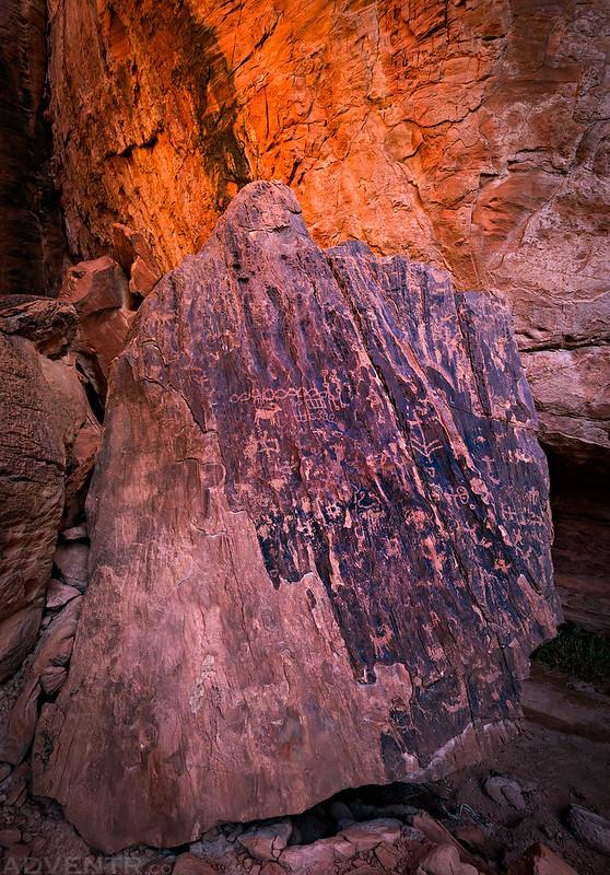 Alcove Boulder