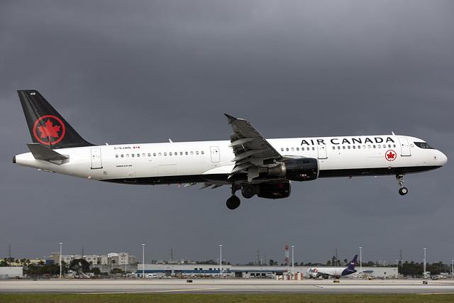 C-GJWN - Airbus A321-211 - Air Canada - KMIA - Jan 2020