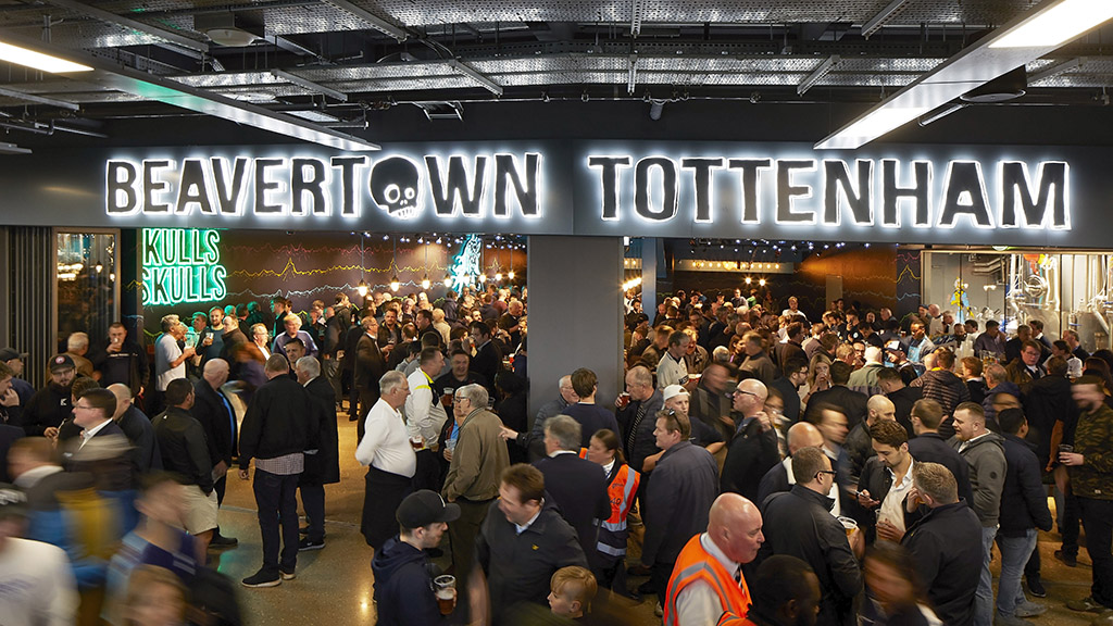 «Тоттенхэм» и Beavertown выпустили пиво, сваренное на стадионе