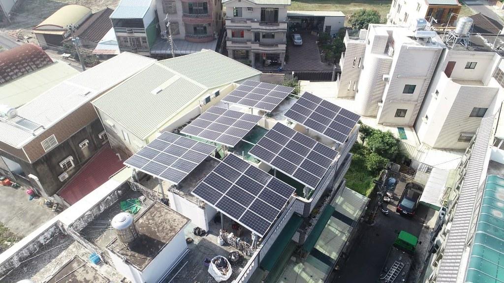 綠電轉供案場完成,全數轉供給企業使用,創國內綠電交易先例。圖片提供:睿禾控股
