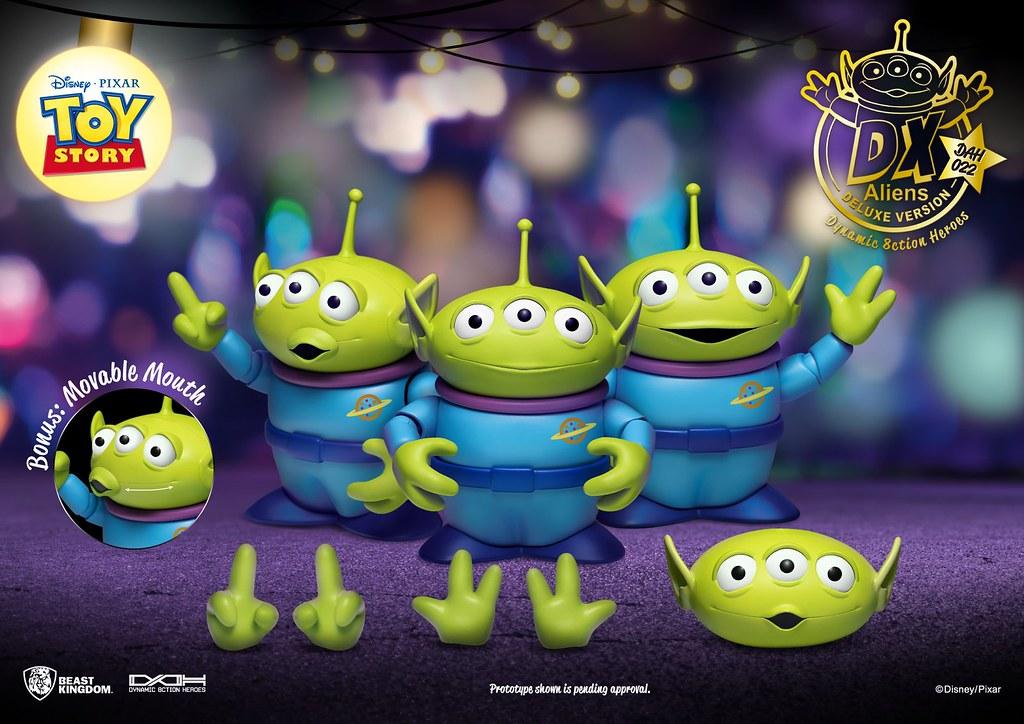 野獸國 究極英雄系列《玩具總動員》三眼怪 Alien 6 吋可動人偶 雙人組/DX版三人組