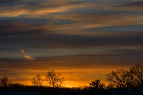 smack53 sunset sundown paintedsky sky clouds cloudysky evening eveningsky cedarknolls newjersey nikon coolpix p7000 nikonp7000 nikoncoolpixp7000 winter wintertime