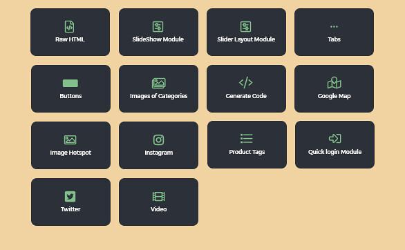 best drag and drop ap page builder Prestashop module-