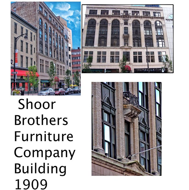 Hartford Connecticut  - Brothers Furniture Company  Building  -   1909