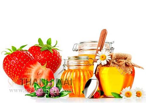 mật ong dâu tây