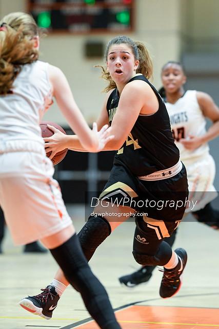 Trumbull High vs. Stamford High - Girls High School Basketball Tuesday night.