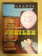 Granta 87: Jubilee - Various, Granta Magazine