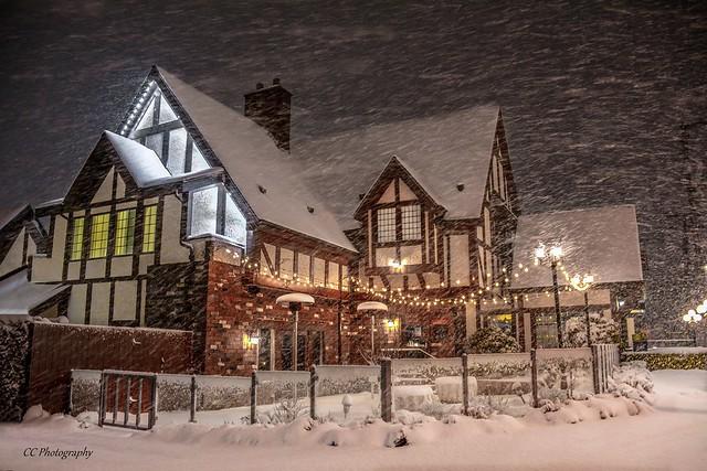 Snowy January Night