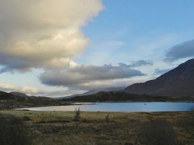 Loch Cluanie, Highlands of Scotland, Dec 2019