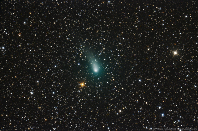 Comet C/2017 T2 PANSTARRS on 1/17/2020 from Grand Mesa Observatory