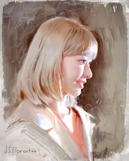 Portrait Paintings Sakura