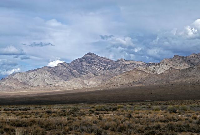 The far south Egan Range in Nevada.