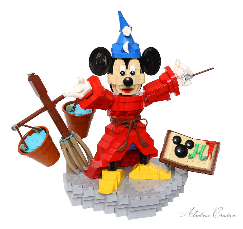 LEGO Mickey Mouse Magic (Sorcerer's Apprentice - Fantasia)
