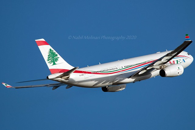 MEA Middle East Airlines OD-MED Airbus A330-243 cn/926 @ LFPG / CDG 19-01-2020