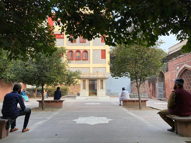 City Hangout - Poetry Reading Benches, Mirza Ghalib's Tomb