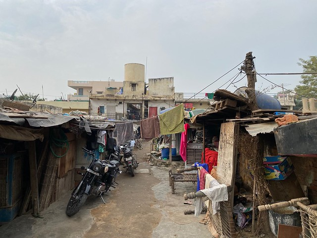 City Region - Slum and 'Society', Sector 15, Gurgaon