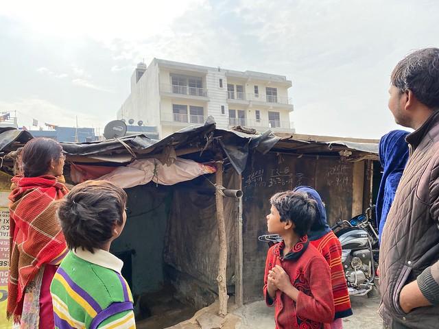 City Region - Slum and 'Society', Sector 15, Gurgaon