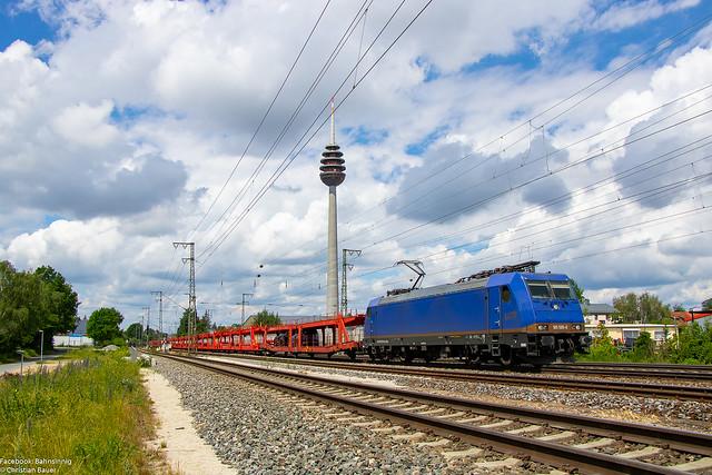 185 595 (BRLL/LTE)   21.06.2019   Nürnberg Hohe Marter