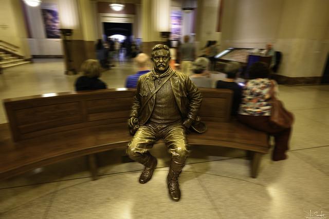 Natural History Museum - Teddy Roosevelt Memorial Hall - New York City - USA