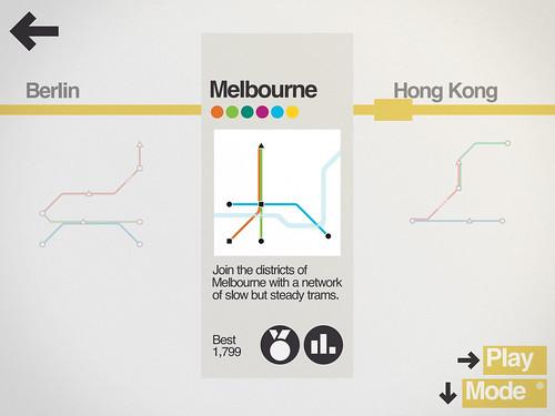 Mini Metro: Melbourne