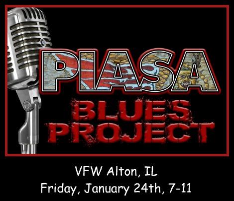 Piasa Blues Project 1-24-20