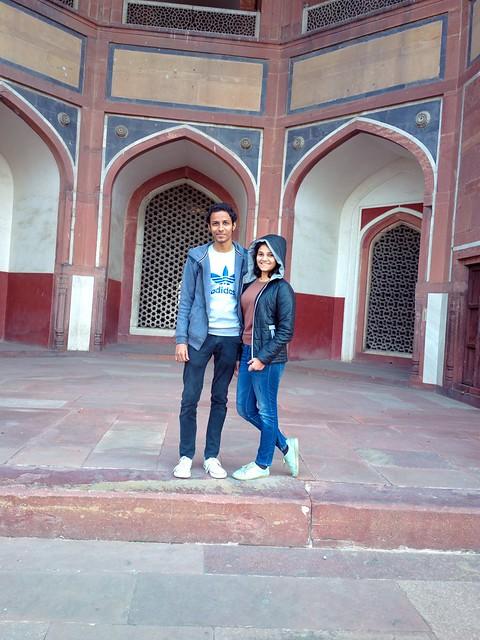Humayun tomb nokia 808 photoshoot on winter day weekend sunday
