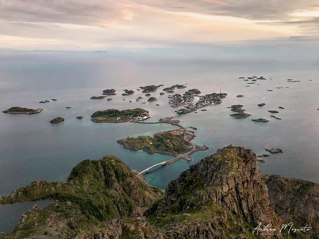 Henningsvaer Overlook - Lofoten Islands (Norway)