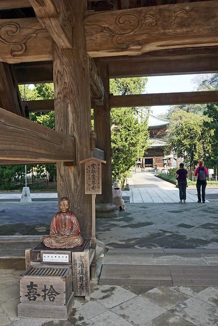 Sanmon gate of Kenchoji Temple, Kamakura