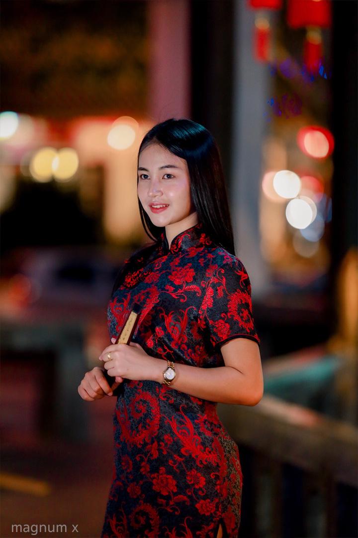 รูปถ่ายเทศกาลตรุษจีน โทนไนท์กี่เพ้า ณ ศูนย์วัฒนธรรมไทยจีน มูลนิธิศาลเจ้าปู่ย่า อุดรธานี
