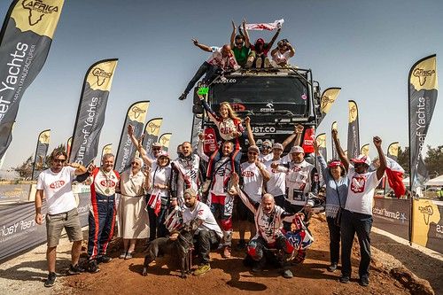 Africa Eco Race 2020 - Finish