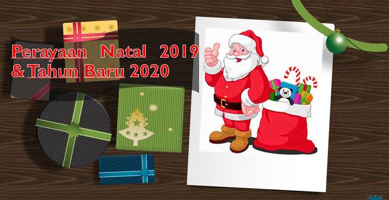 Selamat Natal 2019 Selamat Datang 2020