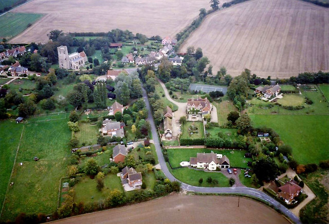 Great Waldingfield and the Church of St. Lawrence, Suffolk