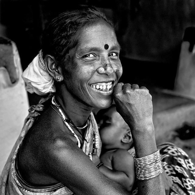 Inde - Femme de l'Orissa.