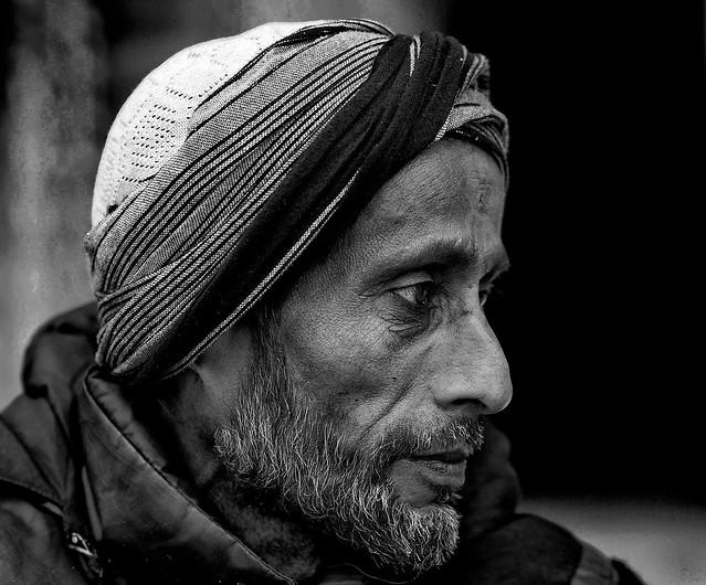 Inde - Guide népalais rencontré à Fatehpur Sikri.