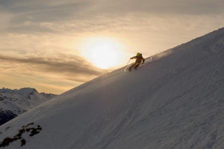 Freeride kemp Peak Performance SNOWfest 2020: Davos zalitý sluncem