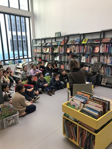 Visite bibliothèque Gère CM2C Jan 20