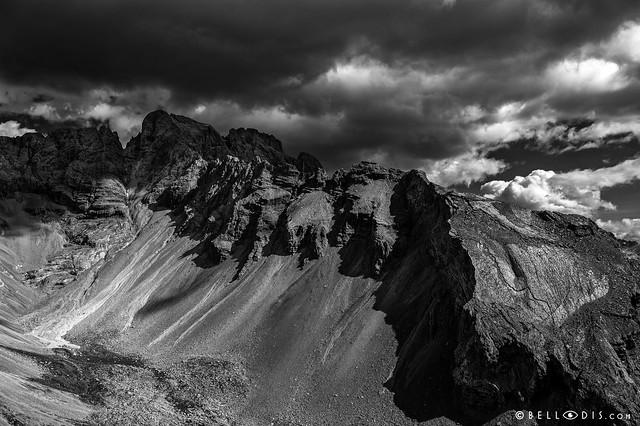 190770  Mount Croda Rossa in the Dolomites