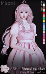 [^.^Ayashi^.^] Misami hair special for Flora Event