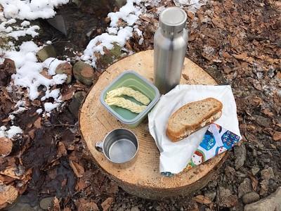 hulladékmentes étkezés utazás közben
