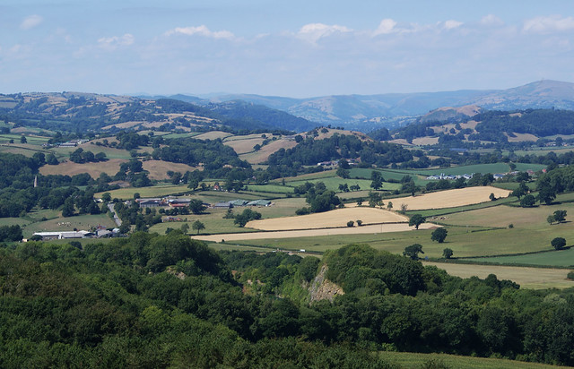 Another view from Llynclys Hill, Shropshire