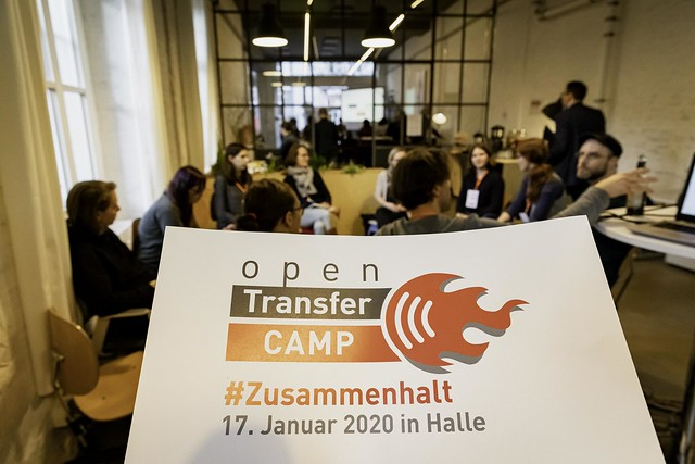 28. openTransfer CAMP #Zusammenhalt, 17.01.2020 in Halle