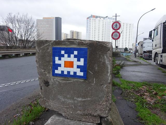 PA 0337 réactivé / Space Invader (janvier 2020)