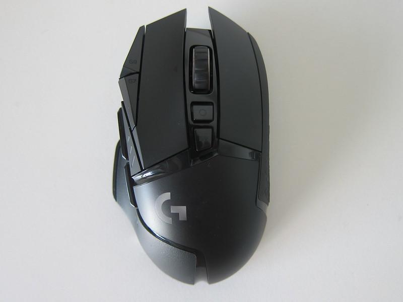 Logitech G502 Lightspeed - Top